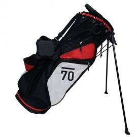 Sub 70 Golf Stand Bag Black/White/Red Side