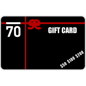 $50 Sub 70 Golf Gift Card