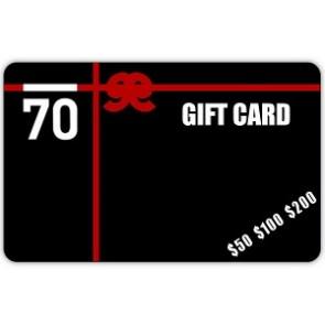 $100 Sub 70 Golf Gift Card