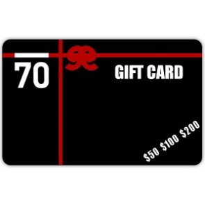 $200 Sub 70 Golf Gift Card