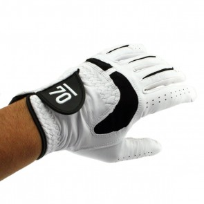 Sub 70 Pro Ultra Soft Cabretta Leather Golf Glove Top Hand